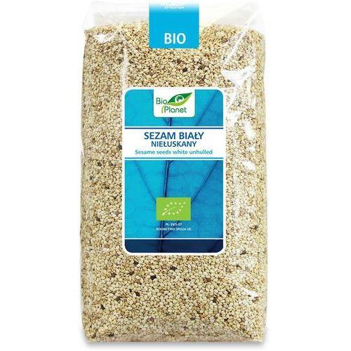 Sezam biały niełuskany bio 1 kg - marki Bio planet