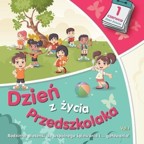 Dzie z ycia przedszkolaka vol 1 - różni wykonawcy (płyta cd)