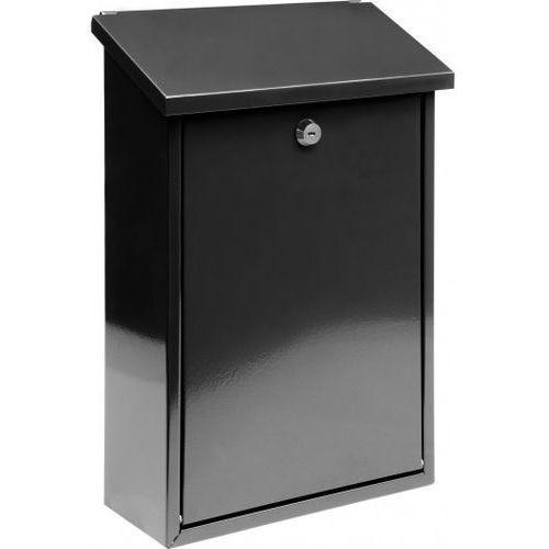 Vorel Skrzynka na listy 400 x 250 x 10 – czarna (78570) - produkt dostępny w Mall.pl