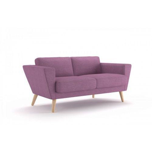 Sofa atla 150cm - fioletowy jasny marki Makstudio