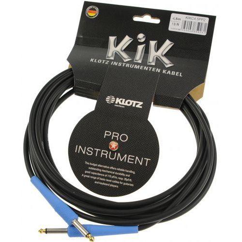 Klotz kikc 4.5 pp2 kabel instrumentalny 4,5m, niebieskie końce