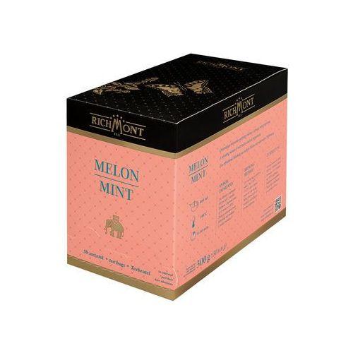 Herbata owocowa o smaku melonu, 50 saszetek | RICHMONT, Melon Mint