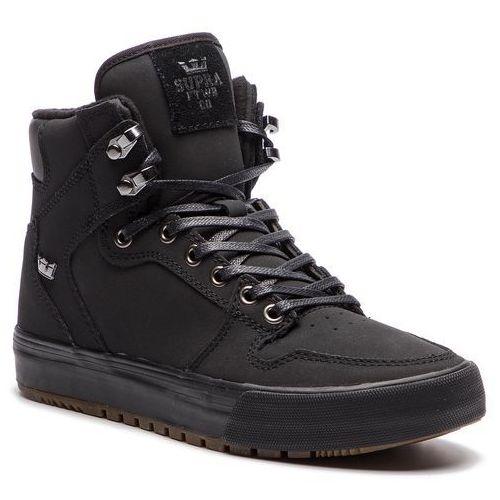 Sneakersy SUPRA - Vaider Cw 08043-060-M Black Black/Dark Gum, kolor czarny