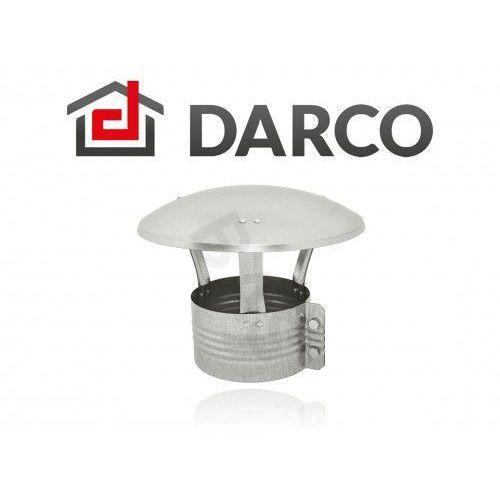 Daszek wywietrznikowy (wywietrzak) nasada kominowa 125mm (da125-oc) marki Darco