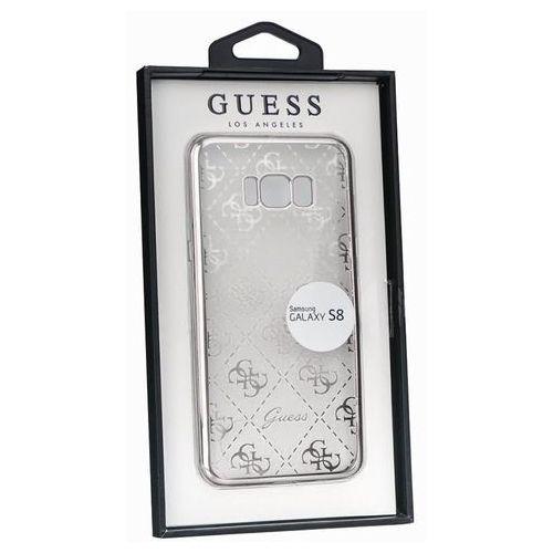 guhcs8tr4gsi samsung galaxy s8 (przeźroczysty-srebrny) - produkt w magazynie - szybka wysyłka! marki Guess