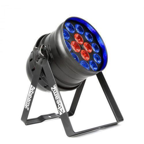 Beamz BPP225 PAR 64 reflektor projektor LED 6-w-1 RGBWA-UV 200W czarny (8715693296976)