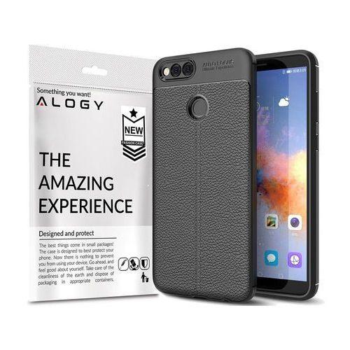 Etui pancerne Alogy leather case TPU Huawei Honor 7X czarne