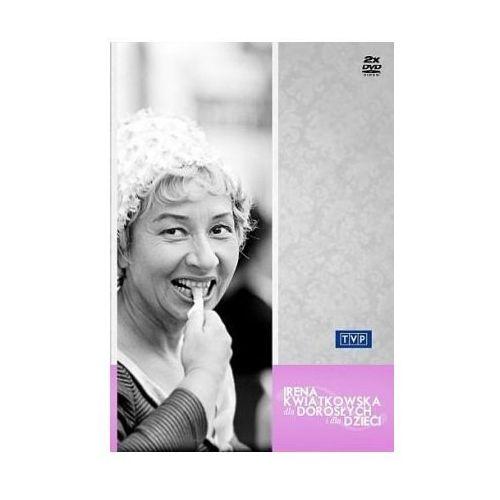 Irena Kwiatkowska - Dla dorosłych i dla dzieci (DVD) - Roman Dziewoński OD 24,99zł DARMOWA DOSTAWA KIOSK RUCHU, 56041802073DV (122388)
