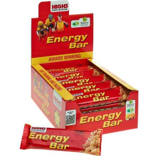 High5 EnergyBar Żywność dla sportowców Peanut 25 x 60g 2018 Batony i żele energetyczne
