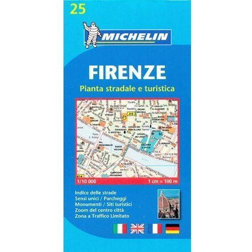 Firenze (Florence) Town Plan neuveden (9782067137943)