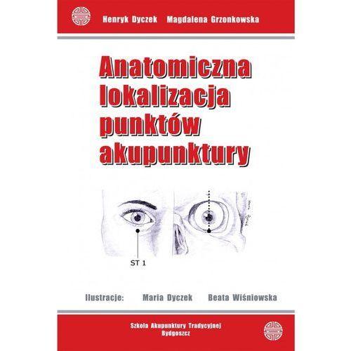 Anatomiczna lokalizacja punktów akupunktury