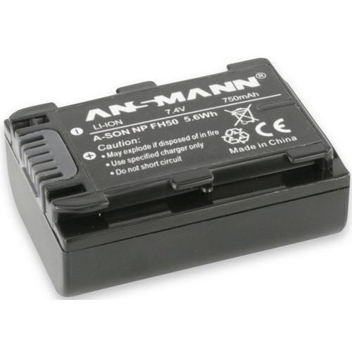 Akumulator ANSMANN do Sony A-Son FH 50 (750 mAh), AFANS446230 (488834)