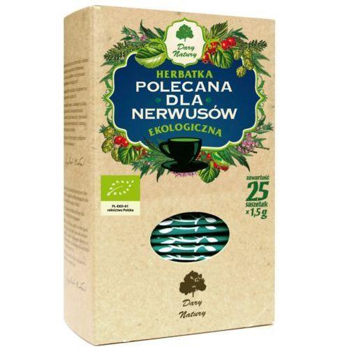 """Herbata ziołowa """"dla nerwusów"""", ekspresowa 20x2g marki Dary natury"""