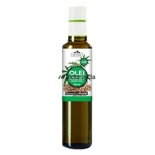 Olej z Konopi, zimnotłoczony nierafinowany - Dr Gaja - Źródło wielonienasyconych kwasów tłuszczowych, 23108720