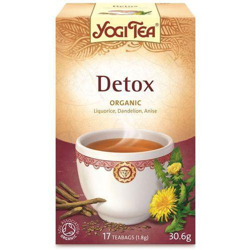 Herbata Detox BIO (Yogi Tea) 17 saszetek po 1,8g (4012824401297)