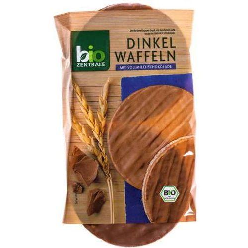 Wafle orkiszowe w mlecznej czekoladzie b/g 100g - bio zentrale eko marki 111bio zentrale