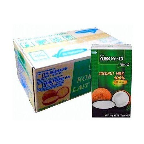 Aroy-d Mleko kokosowe w kartonie 12 szt. x 1l -