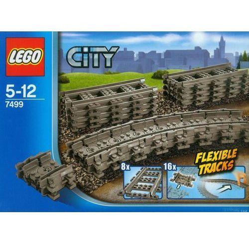 Lego City Elastyczne tory z kategorii kolejki i tory dla dzieci