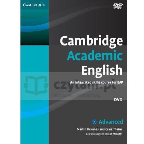 Cambridge university press Cambridge academic english c1 advanced dvd (płyta dvd)
