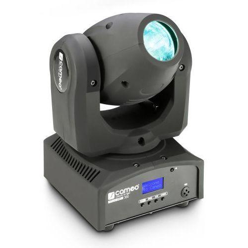 Cameo CLNB300 NanoBeam 300 - 1 x 30 W Cree LED RGBW Mini Moving Head - ruchoma głowa z nieograniczony ruchem PAN