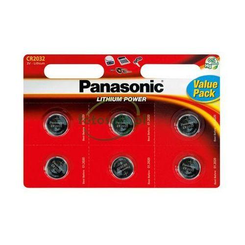 Panasonic Bateria litowa, cr2032, 3v, , blistr, 6-pack, cena za 1 baterie