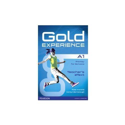 Gold Experience A1. Oprogramowanie Tablicy Interaktywnej (9781447919544)