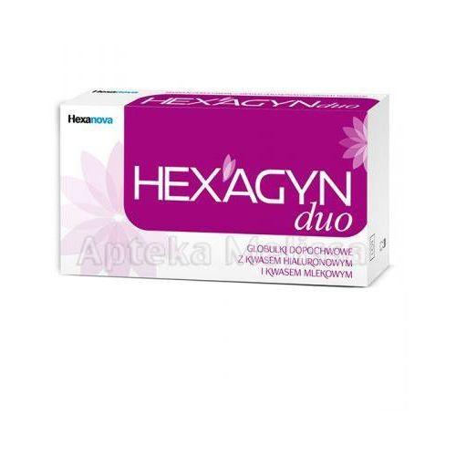 HEXAGYN DUO Globulki dopochwowe - 10 szt. z kategorii płyny i mydła do higieny intymnej