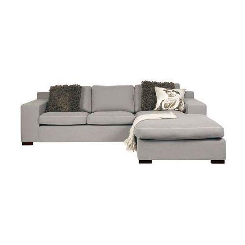 Szara Sofa narożna tapicerowana Kris - oferta [65dd6a2b059526be]