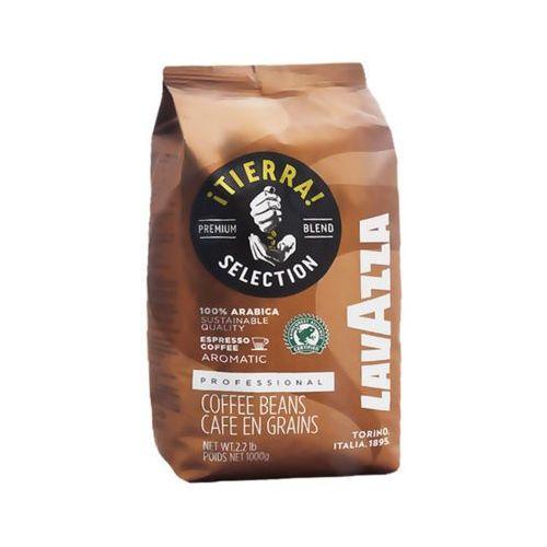 1kg tierra włoska kawa naturalna ziarnista import marki Lavazza