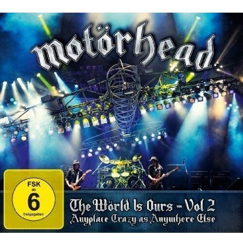 Warner music The world is ours - vol. 2 (dvd+2cd) (płyta dvd)