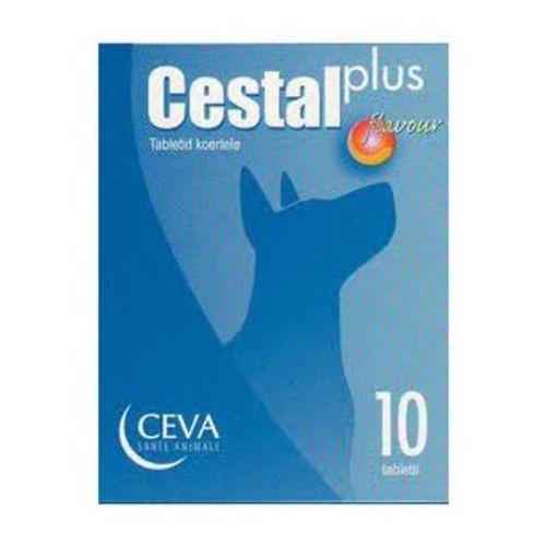 Cestal plus flavour tabletki na odrobaczenie dla psów, 10szt./200szt. marki Ceva sante animale