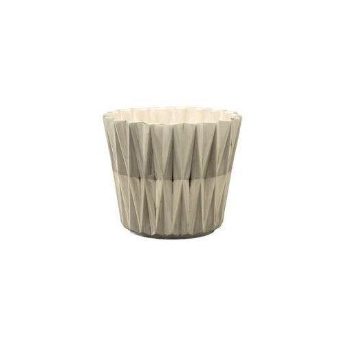 Osłonka geometric 2 r2223 13 x 13 x 16.5 cm marki Eko-ceramika