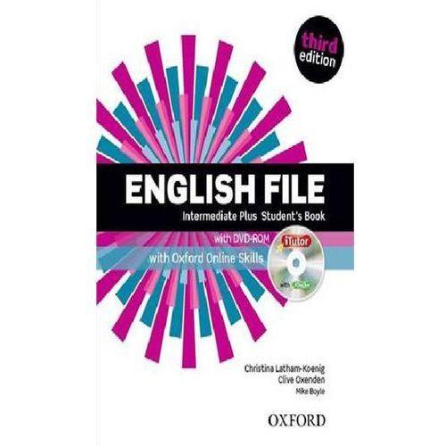 English File Intermediate Plus. Podręcznik + DVD + Online Skills (167 str.)