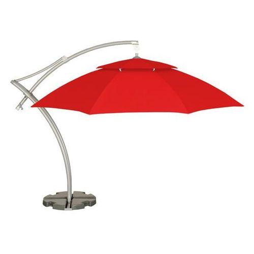 Parasol ogrodowy Ibiza 420 cm czerwony