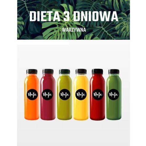 Dieta sokowa warzywa 3-dniowa / dieta sokowa / detoks sokowy marki Nuja