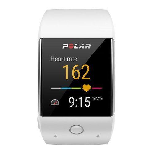 Polar m600 - zegarek sportowy z gps (biały)