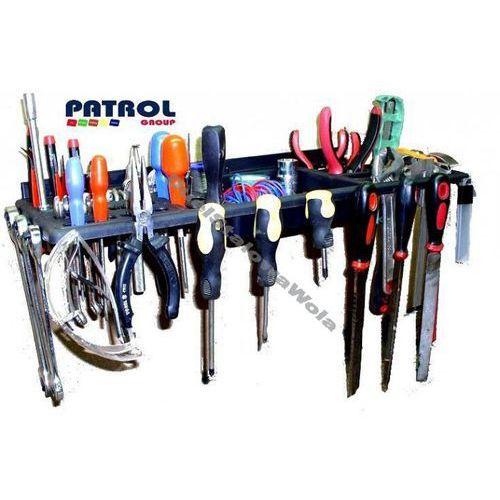 PATROL półka narzędziowa warsztatowa 630x200 uchwyt na narzędzia - sprawdź w organizery.eu