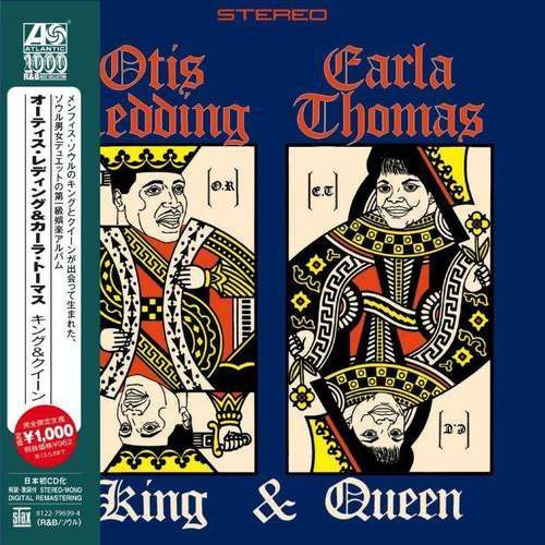 Warner music / atlantic King & queen - otis & carla thomas redding (płyta cd)