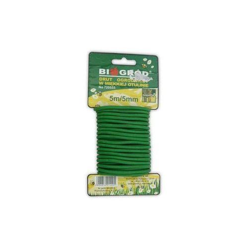 Miękki drut ogrodniczy w otulinie 5mm x 5mb, 5904816914405