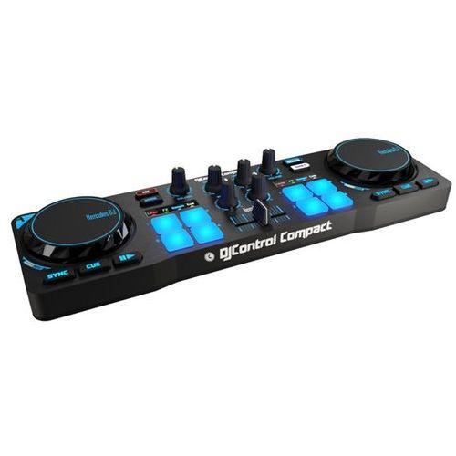 Hercules dj control compact - produkt w magazynie - szybka wysyłka!