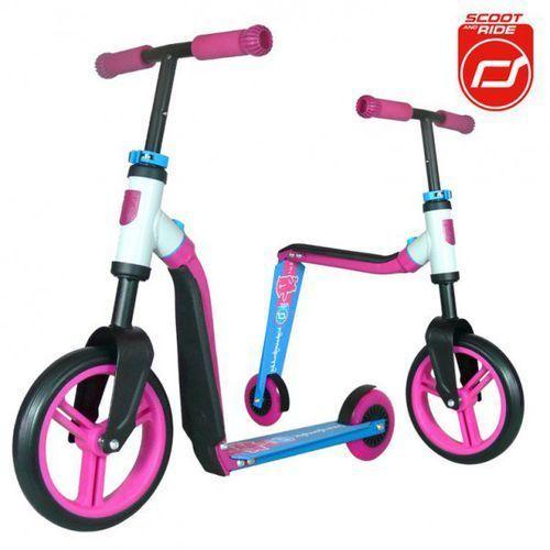 Highwaybuddy 2w1 hulajnoga i rowerek 3+ Pink, Scootandride - produkt dostępny w ExtraMama