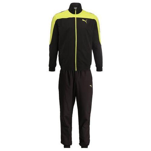 Puma EVOSTRIPE SET Dres puma black/energy yellow, poliester
