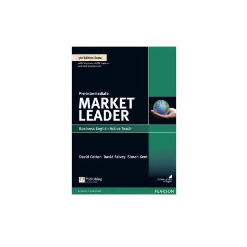 Market Leader 3Ed Extra Pre-Intermediate. Oprogramowanie Tablicy Interaktywnej, Pearson