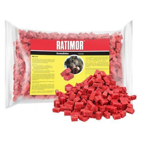 Unichem 1kg trutka na szczury, myszy, gryzonie. ratimor bromadiolone kostka.