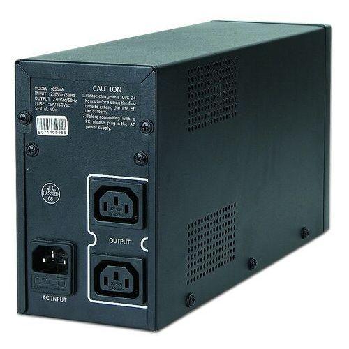 Gembird Ups line-interactive 850va 2x iec 230v out, usb (8716309057066)