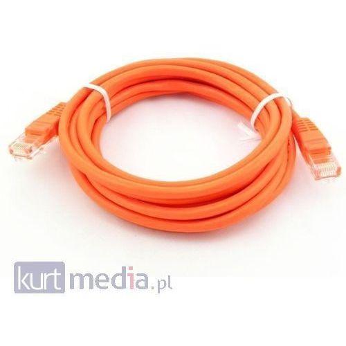kabel patchcord crossover, cat5e 5.0m marki Qoltec
