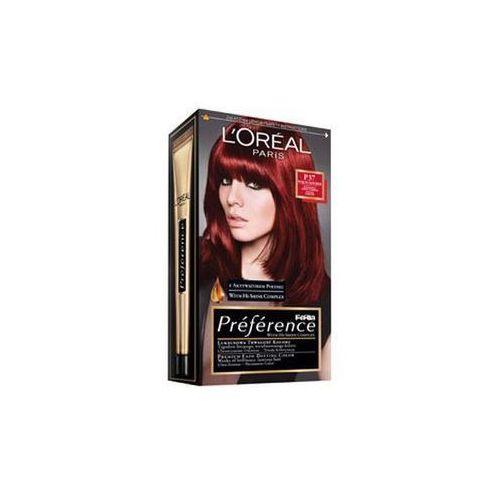 L'Oreal farba do włosów FERIA PREFERENCE, P37 intensywna ciemna czerwień