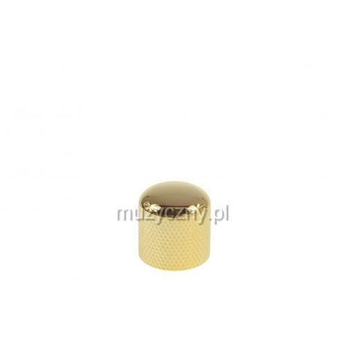 Boston kg-220 gałka potencjometru metalowa, złota, 18x18,5 mm