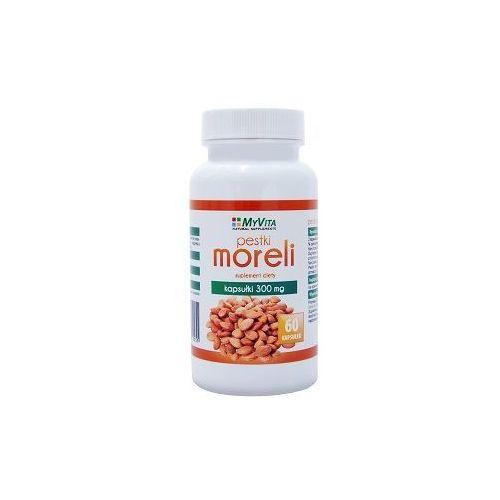Pestki moreli (amigdalina, witamina b17) 300mg () 60 kaps. marki Myvita
