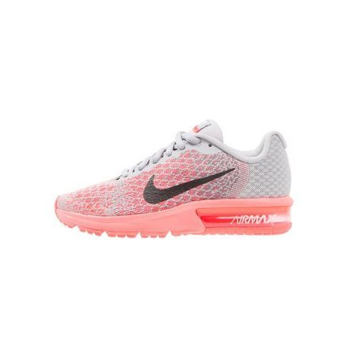 Nike Performance AIR MAX SEQUENT 2 Obuwie do biegania treningowe wolf grey/black/cool grey/hot punch